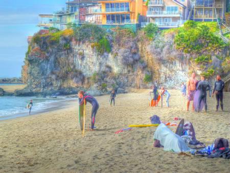 thousand-steps-beach-laguna-beach-california beach