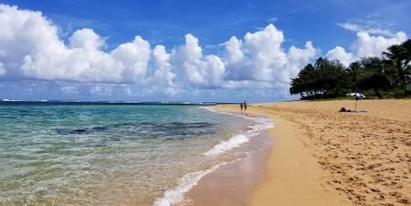tunnels-beach-wainiha-hawaii beach