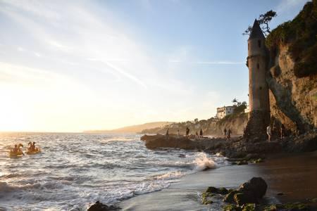victoria-beach-laguna-beach-california beach