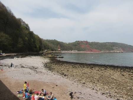 babbacombe-beach-torbay beach