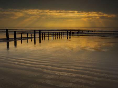 berrow-sands-burnham-on-sea-england beach