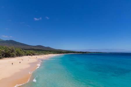 big-beach-wailea-makena-hawaii beach