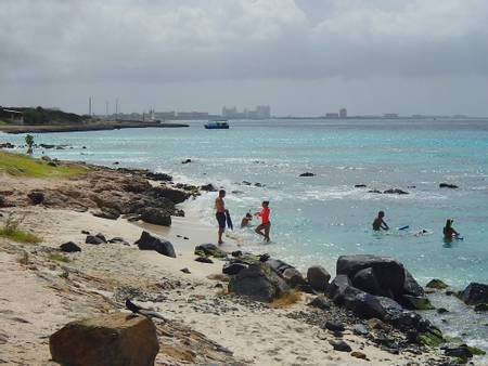 boca-catalina-noord beach