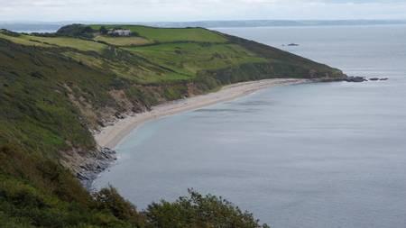 bow-beach-gorran-haven-england beach