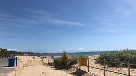 branksome-dene-chine-beach-dorset-england beach