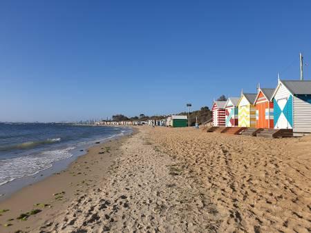 brighton-beach-melbourne-victoria beach