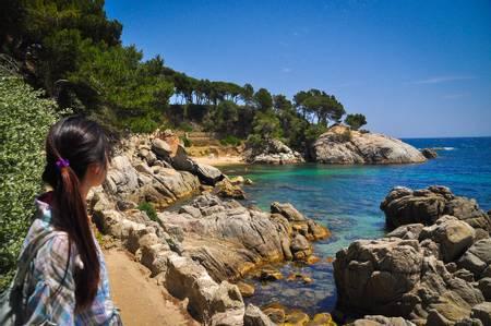 cala-del-pi-platja-d'aro-catalonia beach