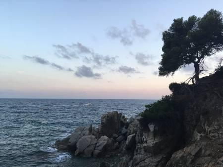 caleta-d'en-trons-lloret-de-mar-catalonia beach