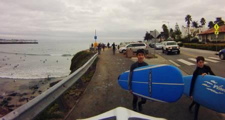 cowell-beach-santa-cruz-california beach