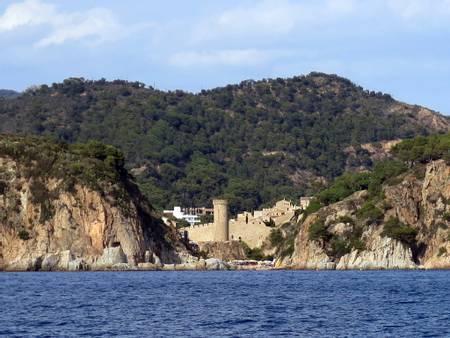 es-codolar-tossa-de-mar-catalunya beach