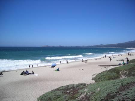 francis-beach-half-moon-bay-california beach