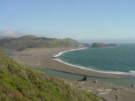 goat-rock-beach-jenner-california beach