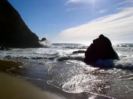 gray-whale-cove-state-beach-montara-california beach