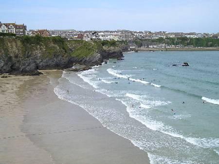 great-western-beach-newquay-england beach