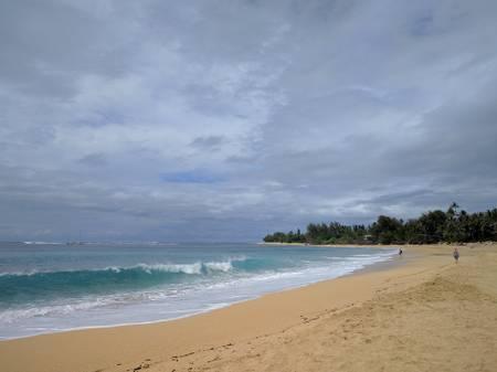 ha'ena-beach-wainiha-hawaii beach