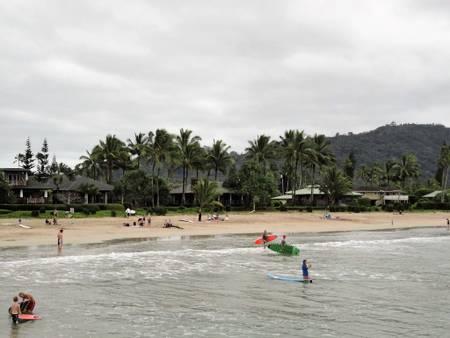hanalei-beach-hanalei-hawaii beach