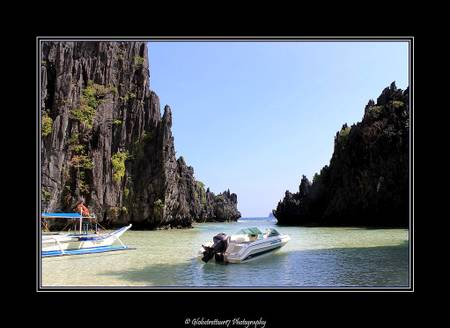 hidden-beach-coron-palawan beach