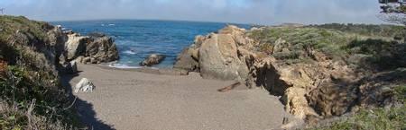 hidden-beach-carmel-highlands-california beach