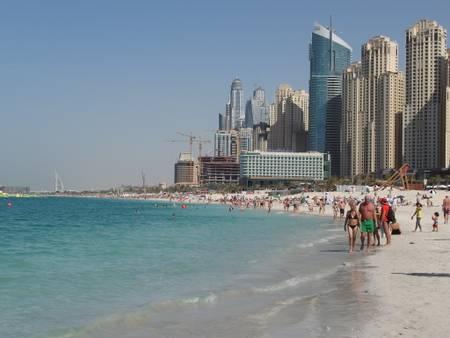 jumeirah-beach-residence-dubai beach