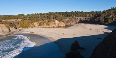 jug-handle-beach-caspar-california beach