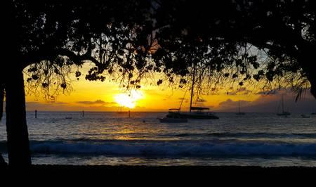 ka'anapali-beach-lahaina-hawaii beach