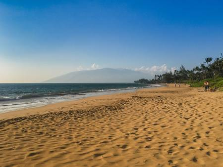kamaole-i-beach-kihei-hawaii beach