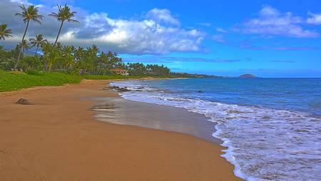 keawakapu-beach-north-wailea-makena-hawaii beach
