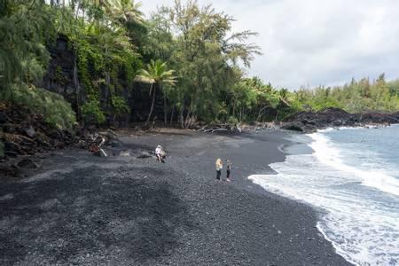 kehena-beach-leilani-estates-hawaii beach