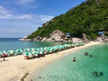koh-nangyuan-surat-thani beach