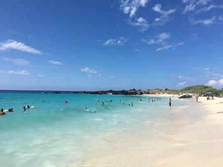 kua-bay-beach-kalaoa-hawaii beach