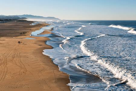 lands-end-beach-san-francisco-california beach