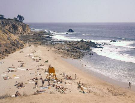 little-corona-del-mar-beach-newport-beach-california beach