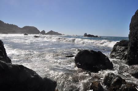 lone-ranch-beach-brookings-oregon beach
