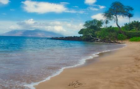 maluaka-beach-wailea-makena-hawaii beach