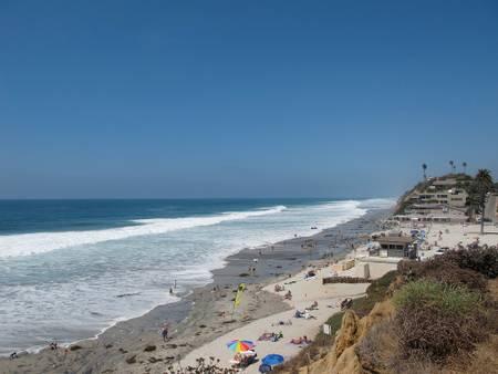 moonlight-beach-encinitas-california beach