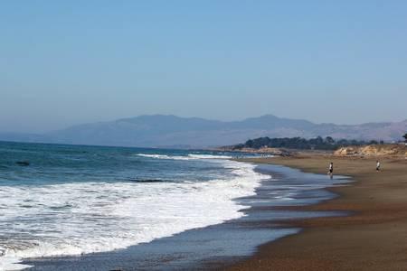 moonstone-beach-cambria-california beach