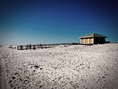 park-west-on-leash-dog-beach-pensacola-beach-florida beach