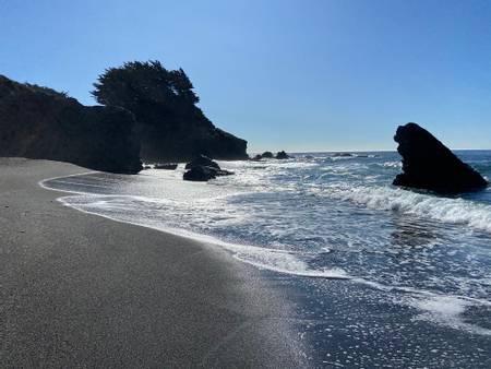 pebble-beach-sea-ranch-california beach