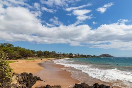 poolenalena-beach-wailea-makena-hawaii beach