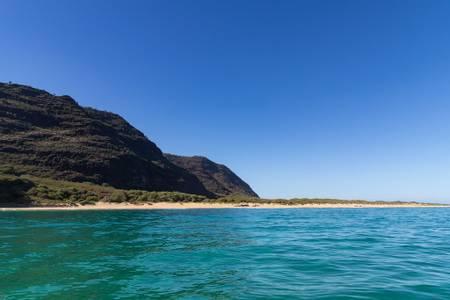 polihale-beach-kekaha-hawaii beach