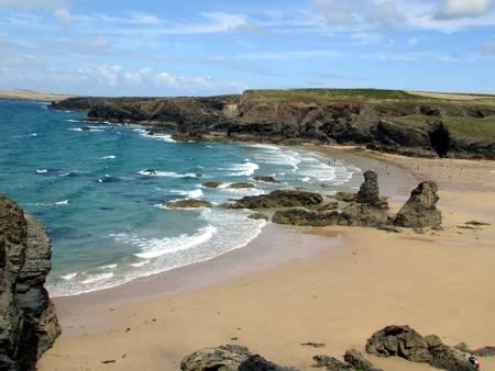 porthcothan-beach-cornwall-england beach