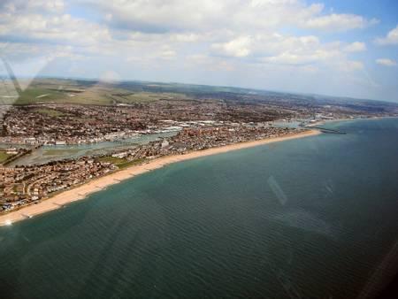 portslade-southwick-england beach