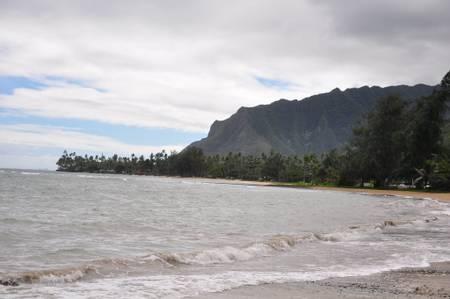 pounders-beach-laie-hawaii beach