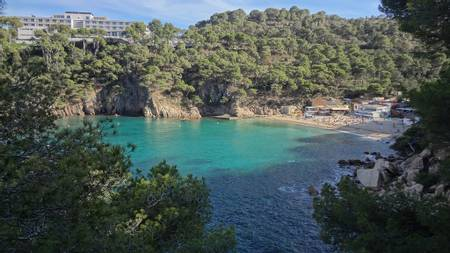 platja-d'aiguablava-fornells-catalunya beach