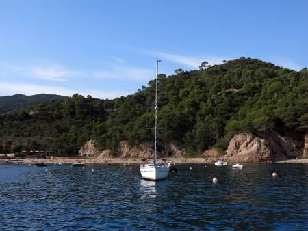 platja-de-giverola-tossa-de-mar-catalonia beach