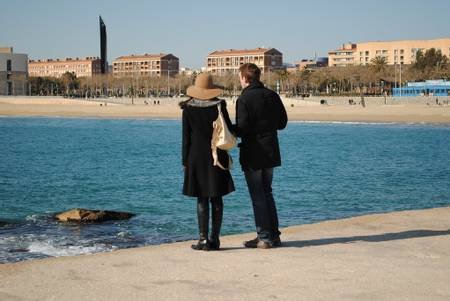 platja-de-la-nova-icaria-barcelona-catalonia beach