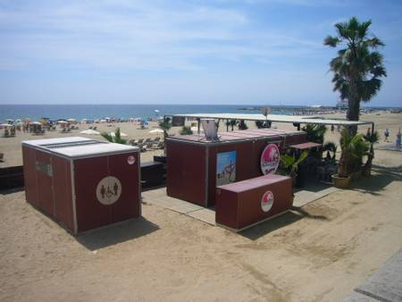 platja-de-la-nova-mar-bella-barcelona-catalonia beach