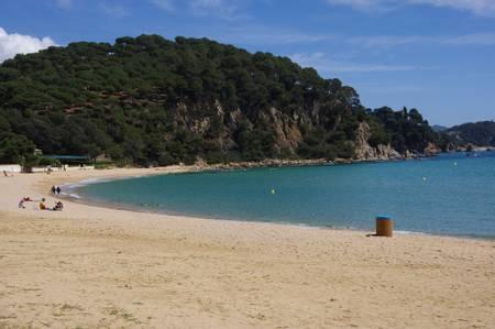 platja-de-santa-cristina-lloret-de-mar-catalonia beach