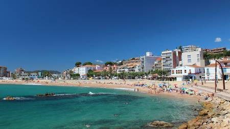 platja-de-s'abanell-blanes-catalonia beach