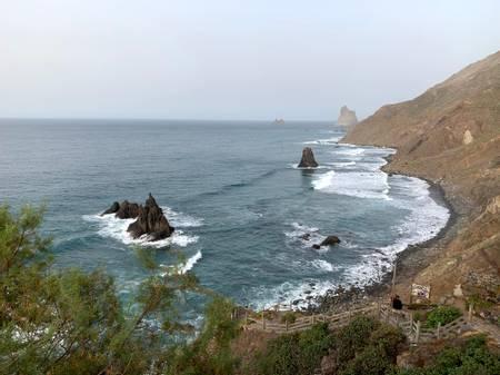 playa-de-benijo-santa-cruz-de-tenerife beach